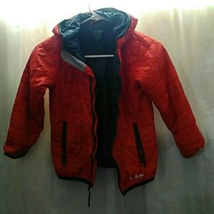L l bean hooded jacket